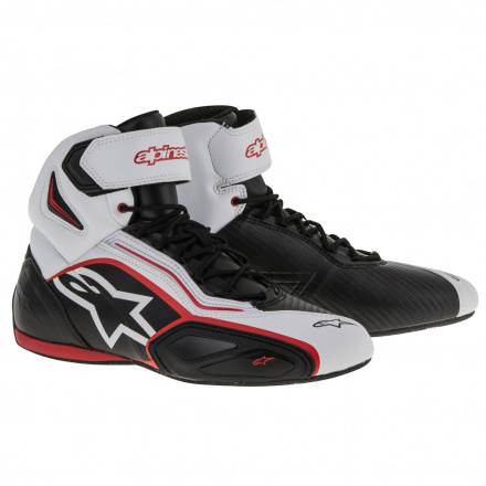 Alpinestars Faster-2 Shoes, Zwart-Wit (1 van 1)