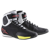 Faster-2 Shoes - Zwart-Wit-Geel