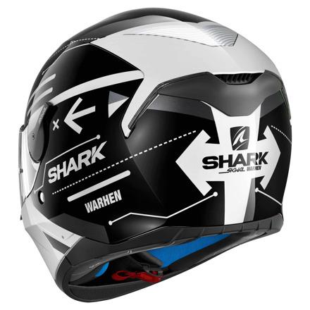 Shark Skwal Warhen, Wit-Zwart (2 van 3)