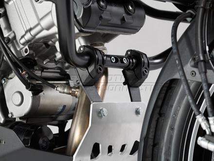 SW-Motech Carterplaat, Suzuki DL 1000 V-Strom ('14-). (motor met valbeugel)., Zilver (3 van 4)