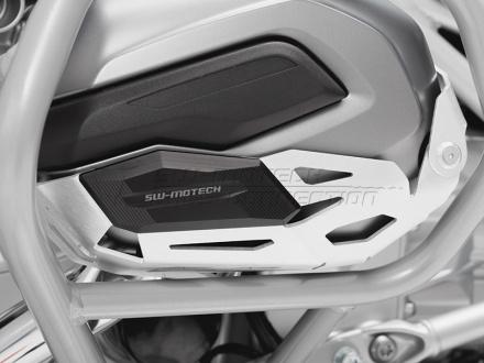 SW-Motech Cylinder beschermer (Paar), BMW R 1200 GS LC/Adventure/R 1200 RT., Zilver (1 van 3)