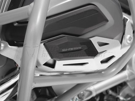 SW-Motech Cylinder beschermer (Paar), BMW R 1200 GS LC/Adventure/R 1200 RT., Zilver (2 van 3)
