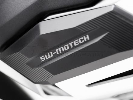 SW-Motech Cylinder beschermer (Paar), BMW R 1200 GS LC/Adventure/R 1200 RT., Zilver (3 van 3)