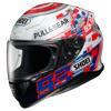 Shoei NXR Marquez Power Up!, Wit-Rood-Blauw (Afbeelding 1 van 3)