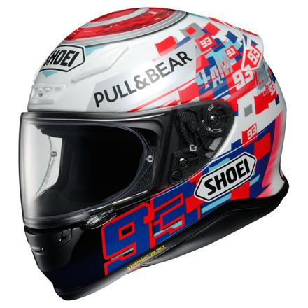 Shoei NXR Marquez Power Up!, Wit-Rood-Blauw (1 van 3)