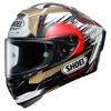 Shoei X-Spirit III Marquez Motegi, Wit-Rood-Goud (Afbeelding 1 van 3)