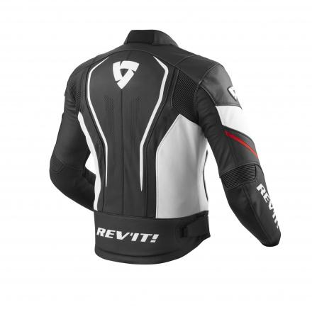 REV'IT! Vertex GT, Zwart-Rood (2 van 2)