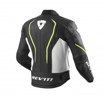 REV'IT! Vertex GT, Zwart-Neon Geel (2 van 2)