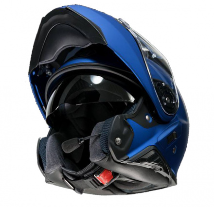 Shoei Neotec 2, Mat Blauw metallic (4 van 10)