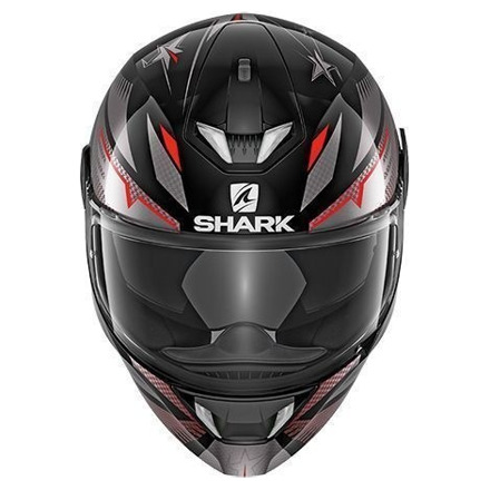 Shark Skwal 2 Draghal, Zwart-Antraciet-Rood (3 van 3)