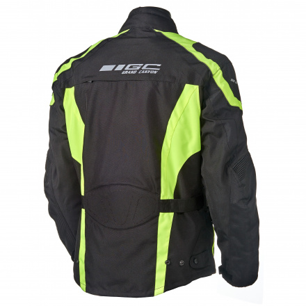 GC Bikewear One Way Fluo, Zwart-Fluor (2 van 2)