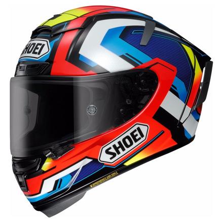 Shoei X-spirit 3 Brink, Wit-Blauw-Rood (1 van 3)
