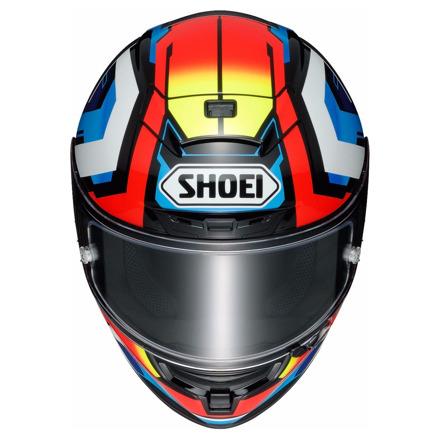 Shoei X-Spirit III Brink, Wit-Blauw-Rood (2 van 3)