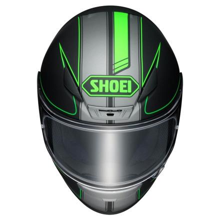 Shoei NXR Flagger, Zwart-Groen (3 van 3)