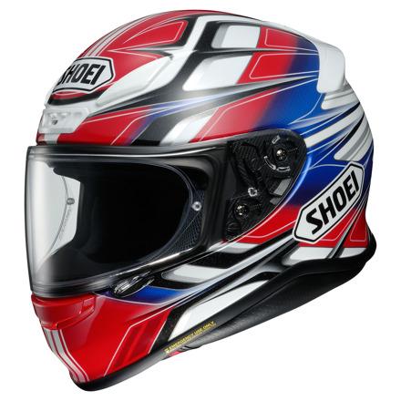 Shoei NXR Rumpus, Rood-Wit-Blauw (1 van 3)