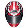 Shoei NXR Rumpus, Rood-Wit-Blauw (Afbeelding 3 van 3)