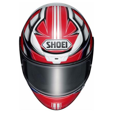 Shoei NXR Rumpus, Rood-Wit-Blauw (3 van 3)