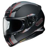 NXR Tale - Mat Zwart-Rood-Zilver