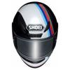 Shoei NXR Recounter, Zwart-Wit-Blauw-Rood (Afbeelding 4 van 4)