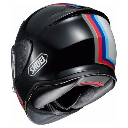 Shoei NXR Recounter, Zwart-Wit-Blauw-Rood (2 van 4)