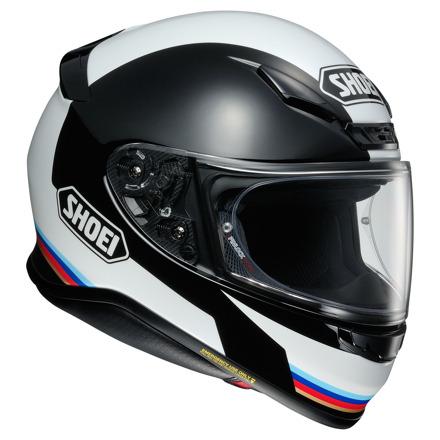 Shoei NXR Recounter, Zwart-Wit-Blauw-Rood (3 van 4)