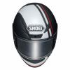 Shoei NXR Recounter, Mat zwart-Wit-Rood (Afbeelding 4 van 4)