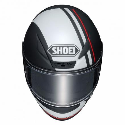 Shoei NXR Recounter, Mat zwart-Wit-Rood (4 van 4)