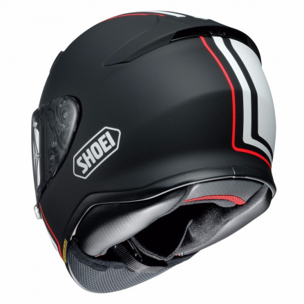 Shoei NXR Recounter, Mat zwart-Wit-Rood (2 van 4)