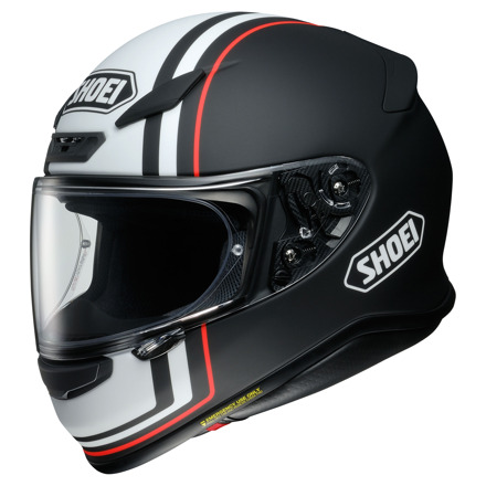 Shoei NXR Recounter, Mat zwart-Wit-Rood (1 van 4)