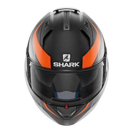 Shark EVO ONE 2 Krono Mat, Mat Zwart-Oranje (3 van 3)
