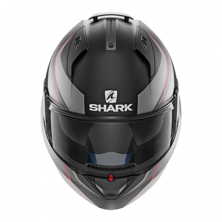 Shark EVO ONE 2 Krono Mat, Mat Zwart-Antraciet-Rood (3 van 3)