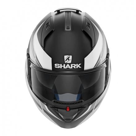 Shark EVO ONE 2 Krono Mat, Mat Zwart-Zilver-Wit (2 van 3)