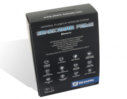Shark SHARKtooth 2 Prime communicatie set, N.v.t. (2 van 3)