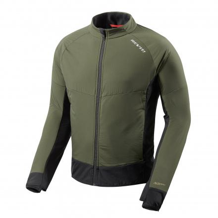 Jacket Climate 2 - Donker Groen-Zwart