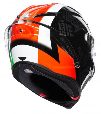 AGV Corsa R Multi Casanova (Pinlock), Zwart-Rood-Groen (5 van 6)