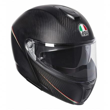 Sportmodular Multi Stripes (Pinlock) - Zwart-Carbon