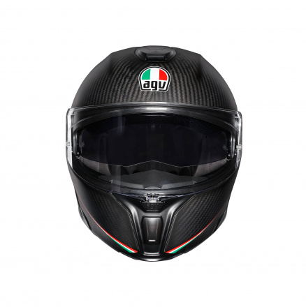 AGV Sportmodular Multi Stripes (Pinlock), Zwart-Carbon (2 van 5)
