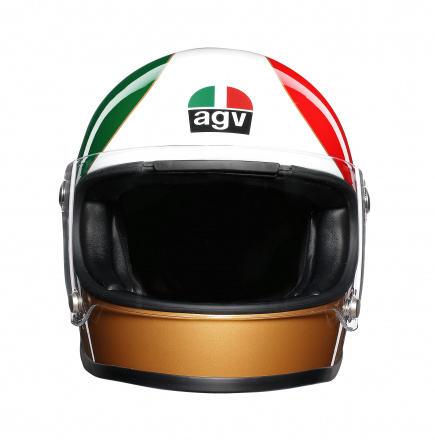 AGV X3000 Ago 1 Limited Edit., Rood-Wit-Groen (2 van 5)