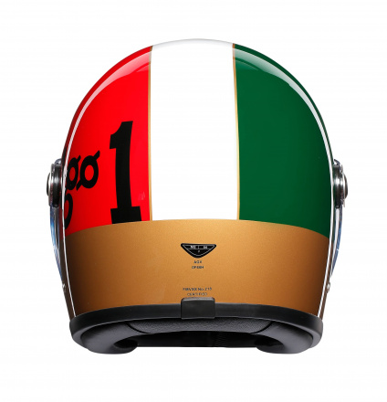 AGV X3000 Ago 1 Limited Edit., Rood-Wit-Groen (5 van 5)
