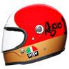 AGV X3000 Ago 1 Limited Edit., Rood-Wit-Groen (Afbeelding 4 van 5)