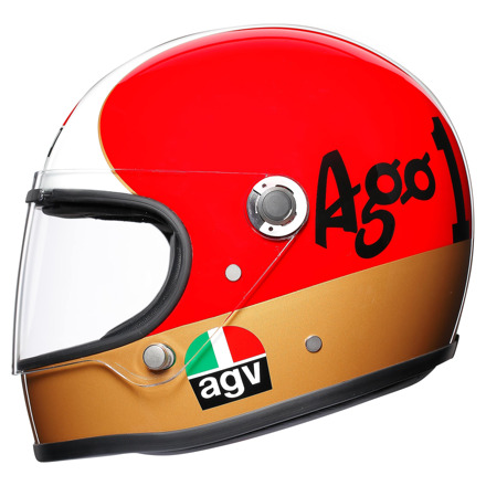 AGV X3000 Ago 1 Limited Edit., Rood-Wit-Groen (4 van 5)
