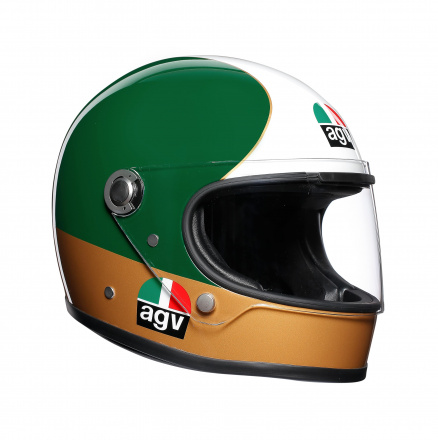 AGV X3000 Ago 1 Limited Edit., Rood-Wit-Groen (1 van 5)