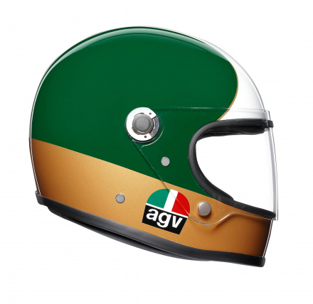 AGV X3000 Ago 1 Limited Edit., Rood-Wit-Groen (3 van 5)