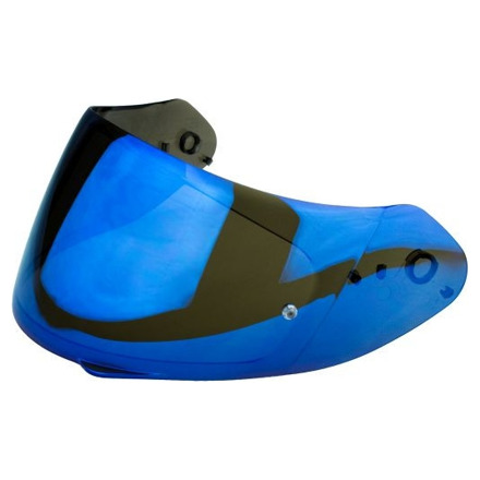 Scorpion Vizier  ELLIP-TEC Faceshield (EXO-1200-710-510-390) KDF14-3, Irridium Blauw, anti-kras (1 van 1)