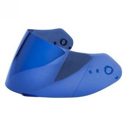 Scorpion Vizier  3D Shield (EXO-1400 AIR), Irridium Blauw, anti-kras (1 van 1)