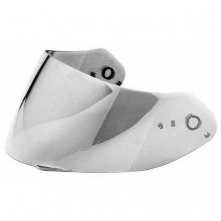 Scorpion Vizier  3D Shield (EXO-1400 AIR), Irridium Zilver, anti-kras (1 van 1)