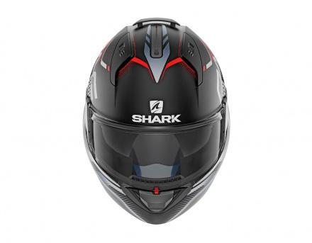 Shark Evo-one 2 Keenser Mat, Mat Zwart-Rood (2 van 5)