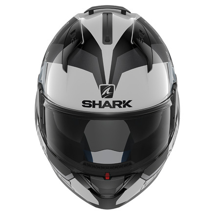 Shark Evo-one 2 Slasher, Wit-Zwart-Zilver (2 van 5)