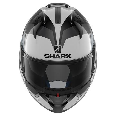 Shark Evo-one 2 Slasher, Wit-Zwart-Zilver (2 van 5)