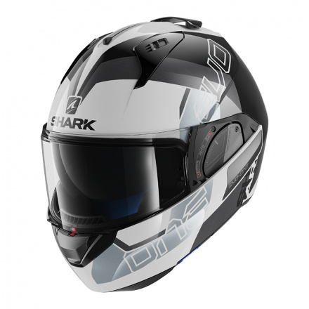 Shark Evo-one 2 Slasher, Wit-Zwart-Zilver (1 van 5)
